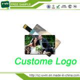 昇進の自由なロゴのカスタム名刺USBのフラッシュ駆動機構
