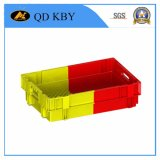 Cajón doble del color Envases plásticos Productos / plástico / plástico del color del doble de la fruta