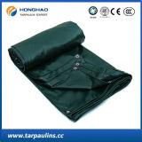 Темнота Factroy высокого качества 1*2 - зеленый брезент PVC водоустойчивый