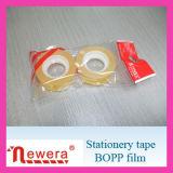Cinta de empaquetado adhesiva material de la película de BOPP para el lacre del cartón