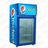 팬에 의하여 지원되는 냉각 장치 싱크대 전시 냉각기 소형 냉장고