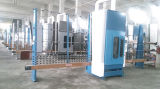 De volledige Automatische Verwerking die van het Glas Machine zandstraalt