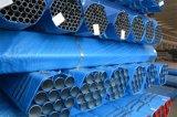 Sch 40の消火活動のスプリンクラーによって塗られる鉄骨構造の管