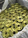 ANSI Plate Flange, Plff Flange com Yellow Painting