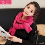 専攻される工場は冬のAcrylic Scarf暖かい方法上の販売の女性を作る