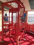 Pequeña plataforma de elevación flotante industrial del carro