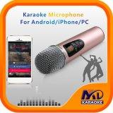 De Microfoon van de mixer voor Andriod TV van iPhonePC met de Originele Vocale on/off Functie van Liederen