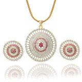 Ювелирные изделия 925 серебряные Fashioni установленные с оптовыми продажами Gemstone