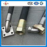 """HochdruckR2 1-1/2 """" 38mm normaler Deckel-Kraftstoff-hydraulischer Schlauch"""