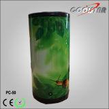 Refrigerador de vino de cristal del refrigerador de la visualización de la poder de bebida de la puerta (PC-50)
