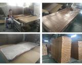 Porte simple en bois découpée par classique