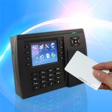 Посещаемость времени карточки близости и стержень контроля допуска (S500)