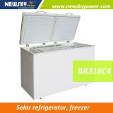 Congelador solar del refrigerador del refrigerador de la energía solar de la C.C. 12V 24V de China