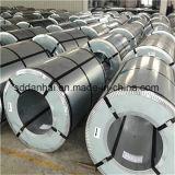 Pleines bobines galvanisées dures d'acier