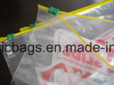 Bolso de empaquetado de la cremallera plástica reutilizable