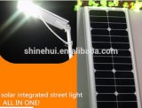 Tudo em uma luz de rua solar do diodo emissor de luz 30W para 7-8m Pólo com a bateria de lítio LiFePO4 incluída (SHTY-230)