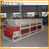 Máquina de fabricación de ladrillo de la arcilla placa de cadena alimentador de acero del rectángulo