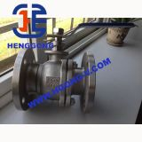 API/ANSI/DIN 2PCの産業フランジの鋳造物鋼鉄Wcbの球弁