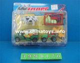 Автомобиль конструкции колеса чывства игрушки горячего сбывания пластичный (3994173)