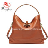 2015 Nieuwe Dame Genuine Leather Tote Bag, de Enige Zak van het Leer Shoulde