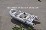 Botes de salvamento de Liya 7people FRP com o barco de motor do encarregado do iate de Hypalon