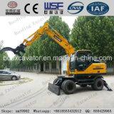Máquina do Sugarcane do carregamento e máquina escavadora novas da roda com o certificado ISO9001