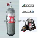 Alsafe 4500psi Kohlenstoff eingewickelte Nachfüllung Scba Luft-Zylinder