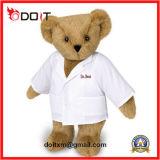 Stuk speelgoed van de Pluche van de Jonge geitjes van de Teddybeer van Kerstmis van de Gift van de bevordering het Zachte Gevulde Dierlijke
