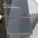 Guter Preis-dunkle graue Poliergranit-Fußboden-Fliese
