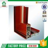 Moderner Entwurfs-Aluminiumschiebetür mit Vorhängen (WJ-Alu-W009))