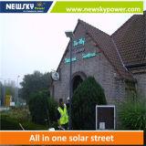 Nuevo 80W integró todos en una luz de calle solar del LED