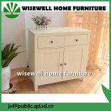 Mobiliário doméstico Gabinete de madeira com 2 portas e 2 gavetas (W-CB-416)