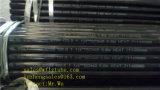 De zwarte Naadloze Pijpen van het Staal Sch40 ASTM A106, de Pijp Sch80 van ASTM A106 Sch40