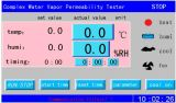 Appareil de contrôle complexe de perméabilité à vapeur d'eau