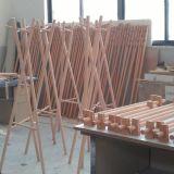 De beuk Met een laag bedekte Tribune van de Hanger van de Doek van de Kleren van de Laag van de Hanger
