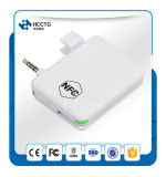 Heißer AudioJack androider magnetischer Kreditkarte-Leser des Verkaufs-NFC mit freiem Sdk ACR35