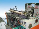 Volle automatische Heiß-Dichtung 2-Line u. Ausschnitt-Shirt-Hochgeschwindigkeitsplastiktasche, die Maschine herstellt