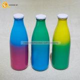 색깔 뚜껑으로 마시기를 위한 둥근 유리제 우우병