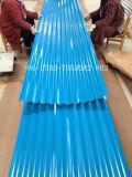(0.15mm-1.0mm) Prepainted гальванизированные рифленые листы/настилающ крышу листы