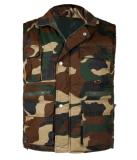 Couche de gilet d'hommes de mode de conception d'hiver de Camo d'armée de comité technique Polycotton