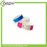 13.56 Wristband MHz пассивный устранимый RFID бумажный для празднества