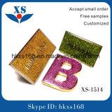 Kundenspezifischer Arten-geformter Metallkennsatz für Beutel