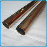 Steel di acciaio inossidabile Welded Round Pipes (Tubes) Plated con Titanium