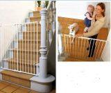 Puerta ajustable cómoda de la seguridad del bebé del animal doméstico de los productos del bebé