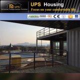 Haltbare mit zwei Schlafzimmern Wohnungs-abmontierbares Behälter-Haus