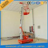 platform van de Lift van het Aluminium van 6m het Mobiele Hydraulische voor Prepairing