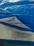 Tampa tecida HDPE de encerado da tela, LDPE que reveste a folha azul de encerado