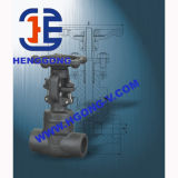 Valvola di globo saldata acciaio forgiata volante dell'olio di DIN/API