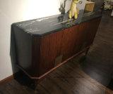 Module en bois de buffet de salle de séjour moderne de type