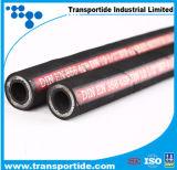 DIN 1sn 2sn China Factoy Flexible en caoutchouc / tuyau hydraulique
